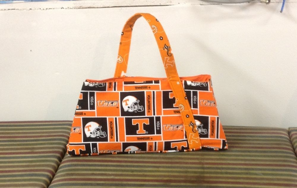 Tennessee Vols Over the Top Purse #Handmade #Totes