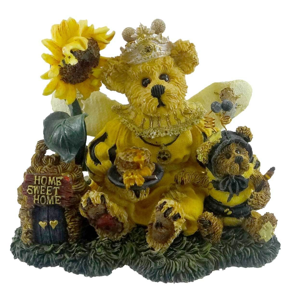 Boyds Bears Resin Victoria Regina Buzzbruin Figurine