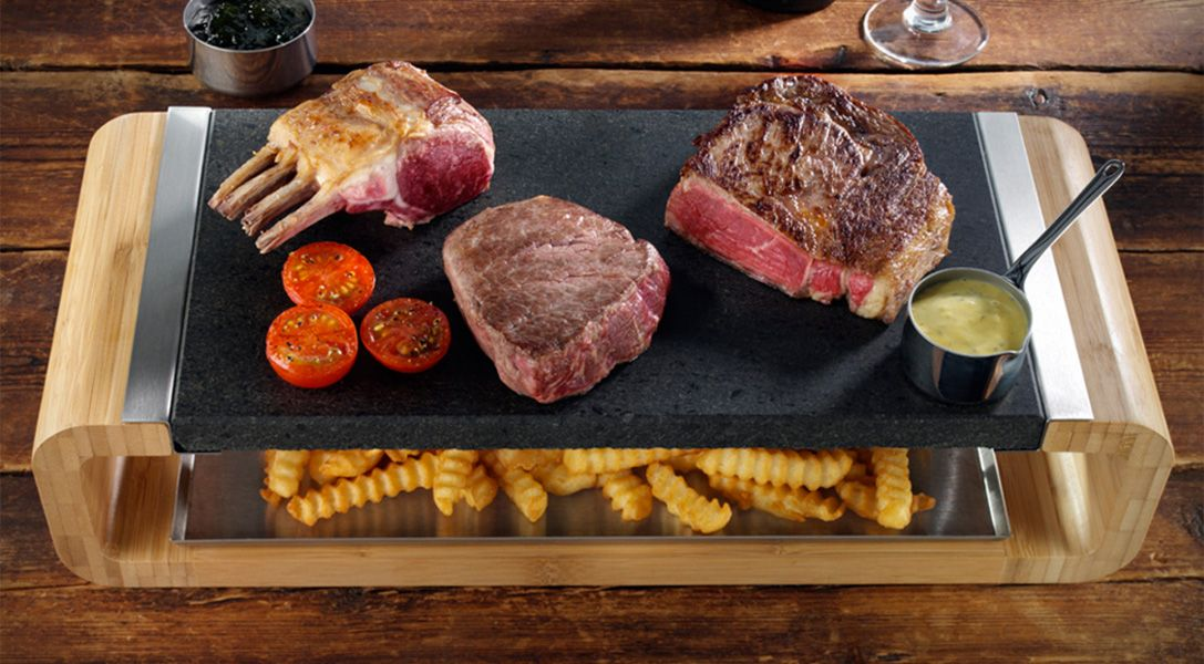 SteakStones Hot Stone Cooking System 0