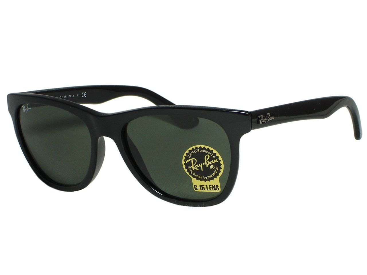 b997046a5d6 Ray Ban RB4184 601 Shiny Black Sunglasses. Includes original case ...