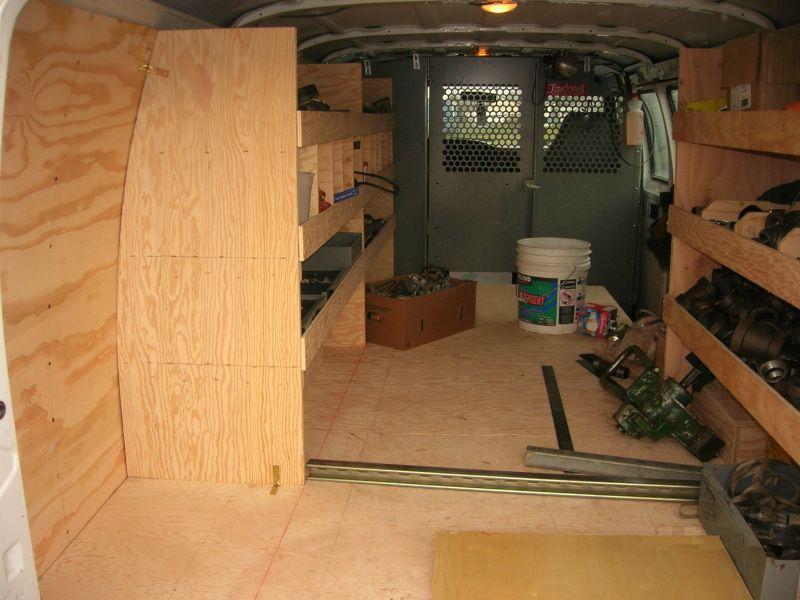Shelves Work Truck Organization Van Organization Shelving