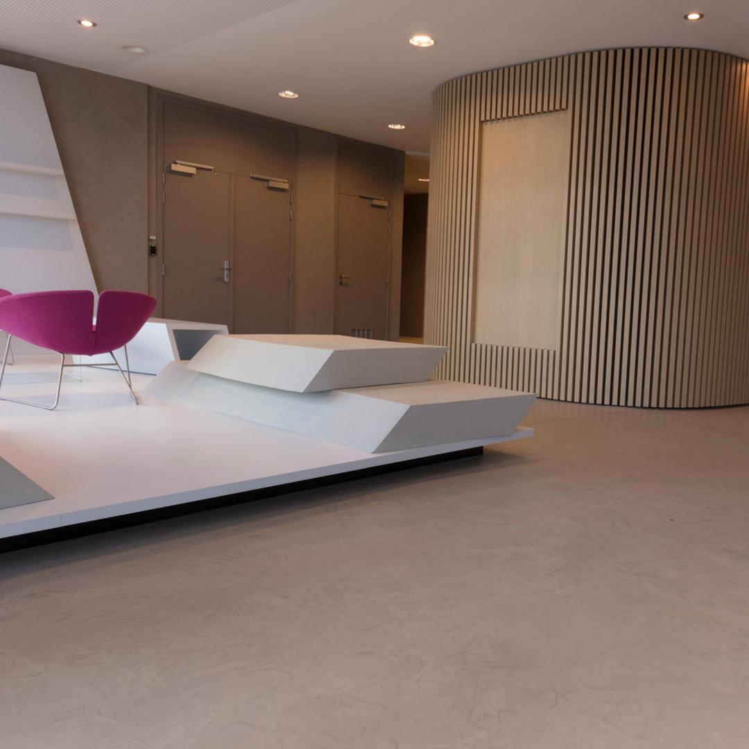 Superb Eurocol BetonDesign   Home   Belgium Zaventem   Concrete Design   Concrete  Interior   Amaris  
