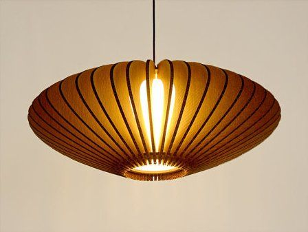design giles lamp cardboard by green inhabitat miller corrugated
