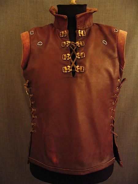 Renaissance Leather Jerkin