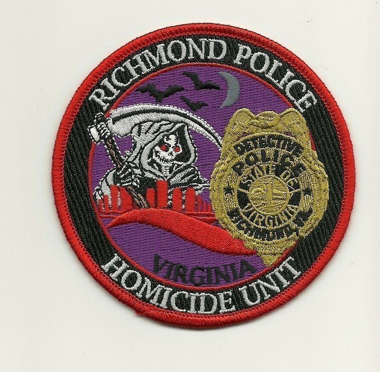 Richmond VA Virginia Bureau of Fire patch *STATE CAPITAL* NEW