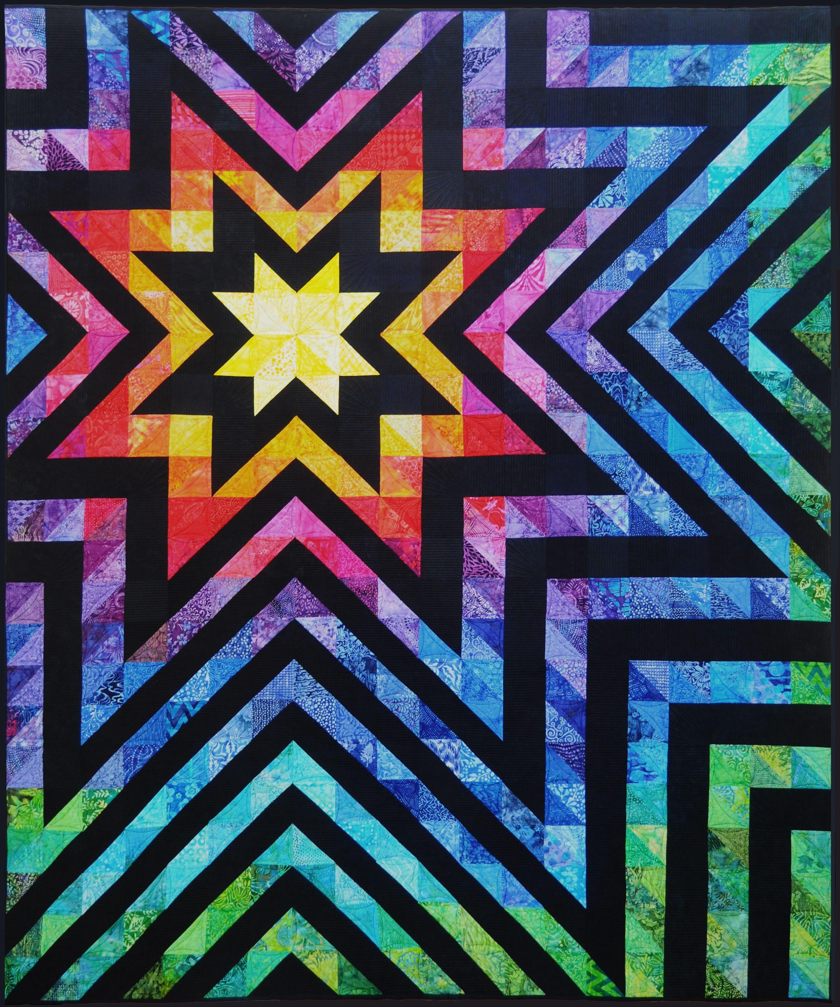 Evening star quilt guild