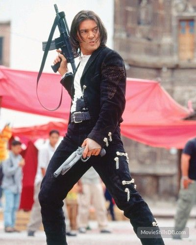 Once Upon A Time In Mexico Publicity Still Of Antonio Banderas Hollywood Actor Quentin Tarantino Movies Jackets