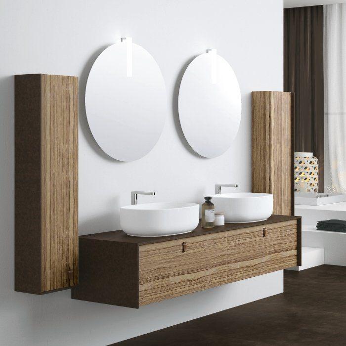 mobile-bagno-doppio-lavabo.jpg (700×700) | Bagno | Pinterest