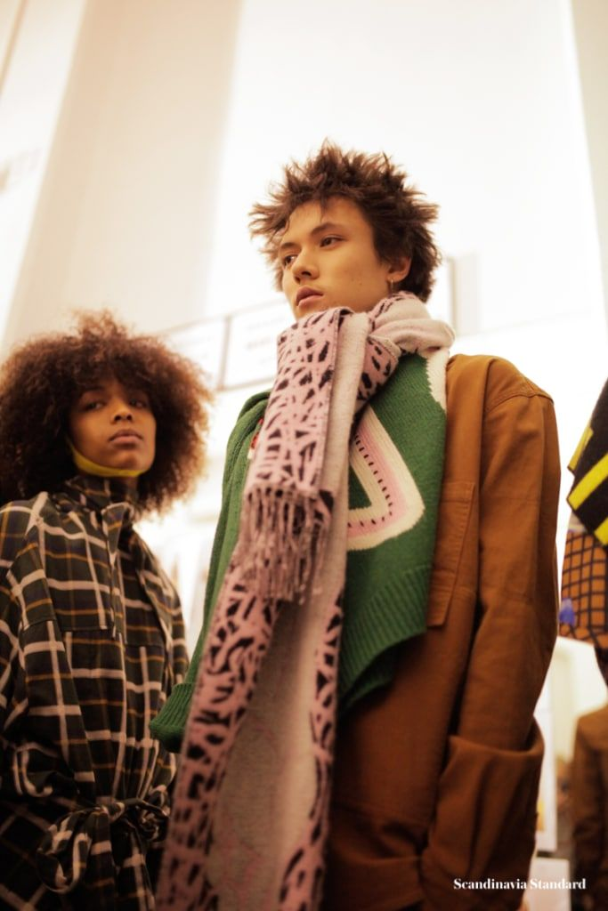 Getting Loud & Wet: Behind the Scenes at Henrik Vibskov AW18 in Paris  See the full runway show as well as behind the scenes photos from Please Analyze Voluminize Moisturize Me during Paris Men's Fashion Week AW18…