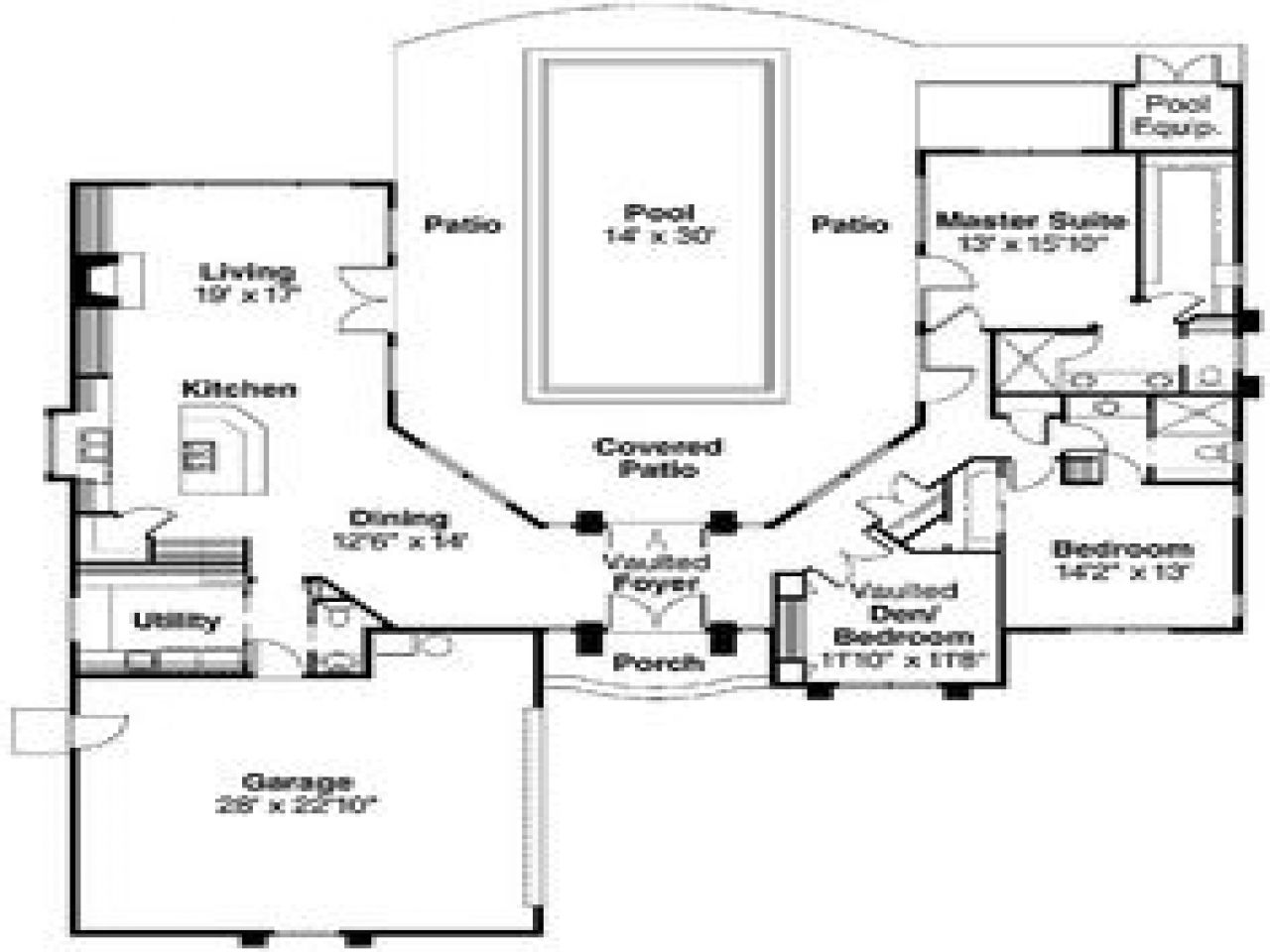 House Plans With Indoor Swimming Pools Plansee Download Home Floor Flooring Within Luxury Pool Rumah Real Estat