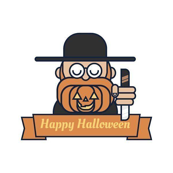Happy halloween👹👹👹👿👿 #logodesign #icondesign #instagram #instamood #graphics #illustration #illustree #illustrator #logo #holiday #scary #funny #old #deerd  #creative #happy #halloween #graphicgang #graphicdesign #icon #icondesign #halloween illustration logo Instagram post by Itamar Cohen • Oct 31, 2016 at 9:44pm UTC