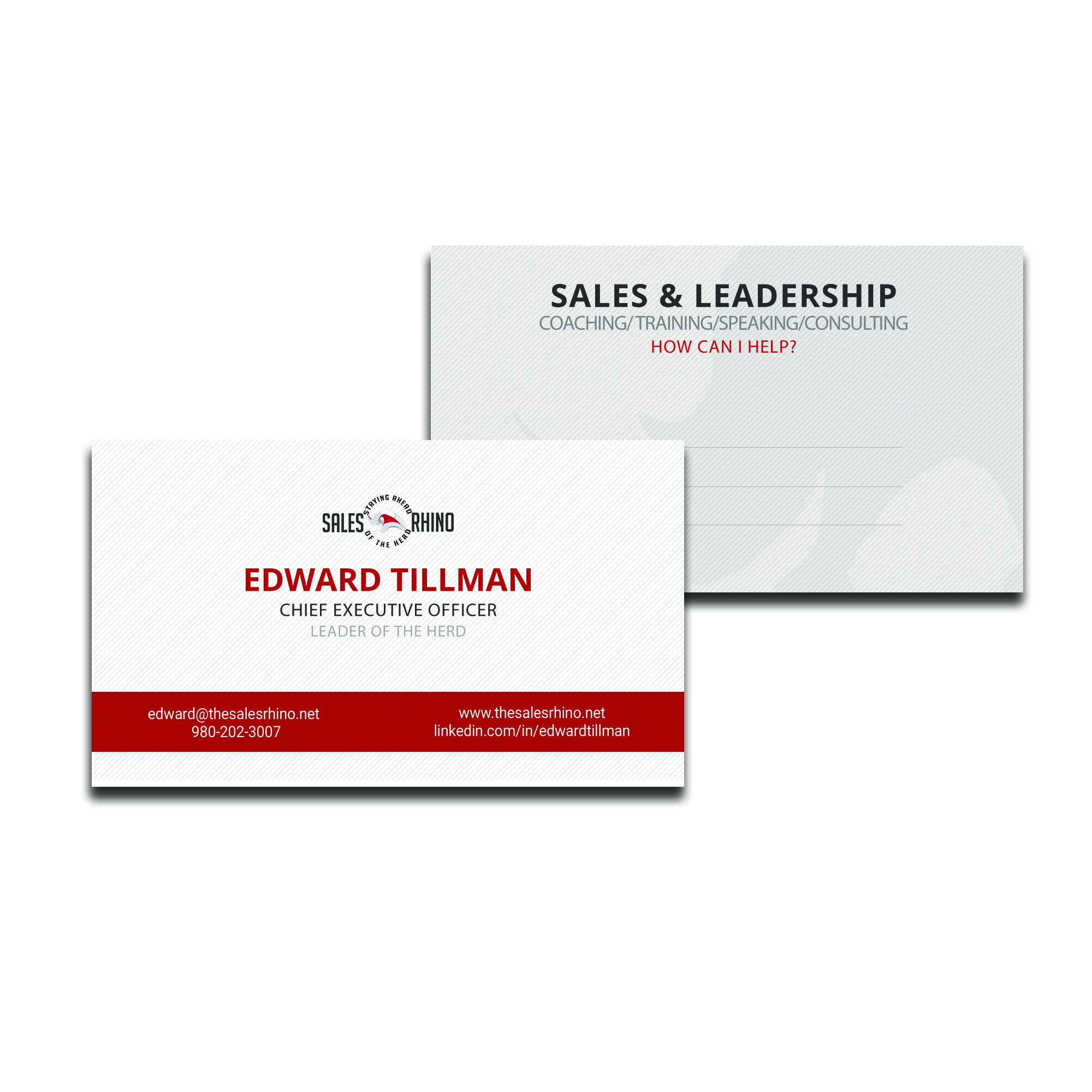 Sales Rhino #motivational #coach #business #card | collateral we ...