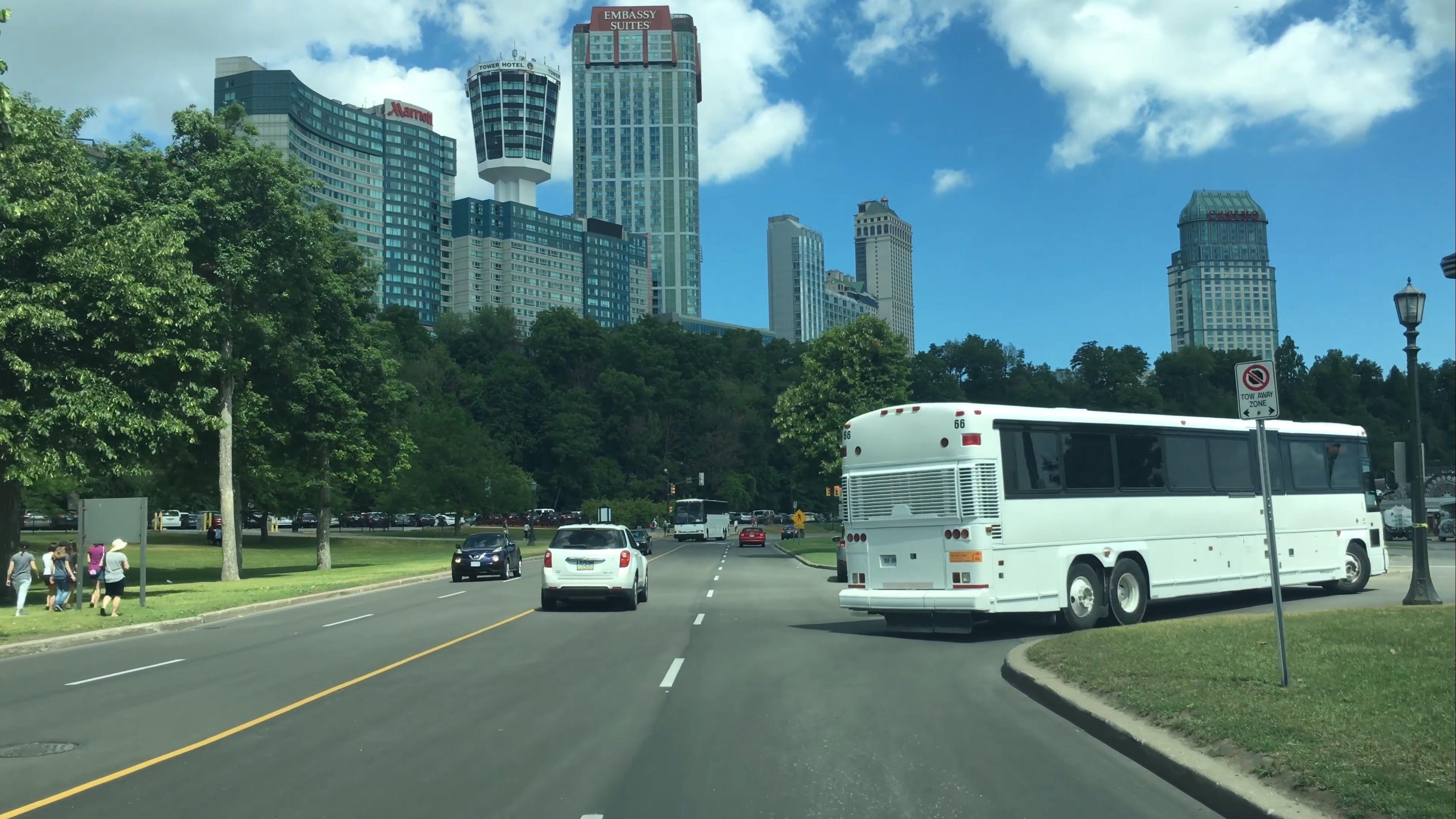 Driving Downtown Niagara Falls Canada Youtube Niagara