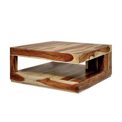 Couchtisch massiv Holz dunkel THE OFFICE Pinterest