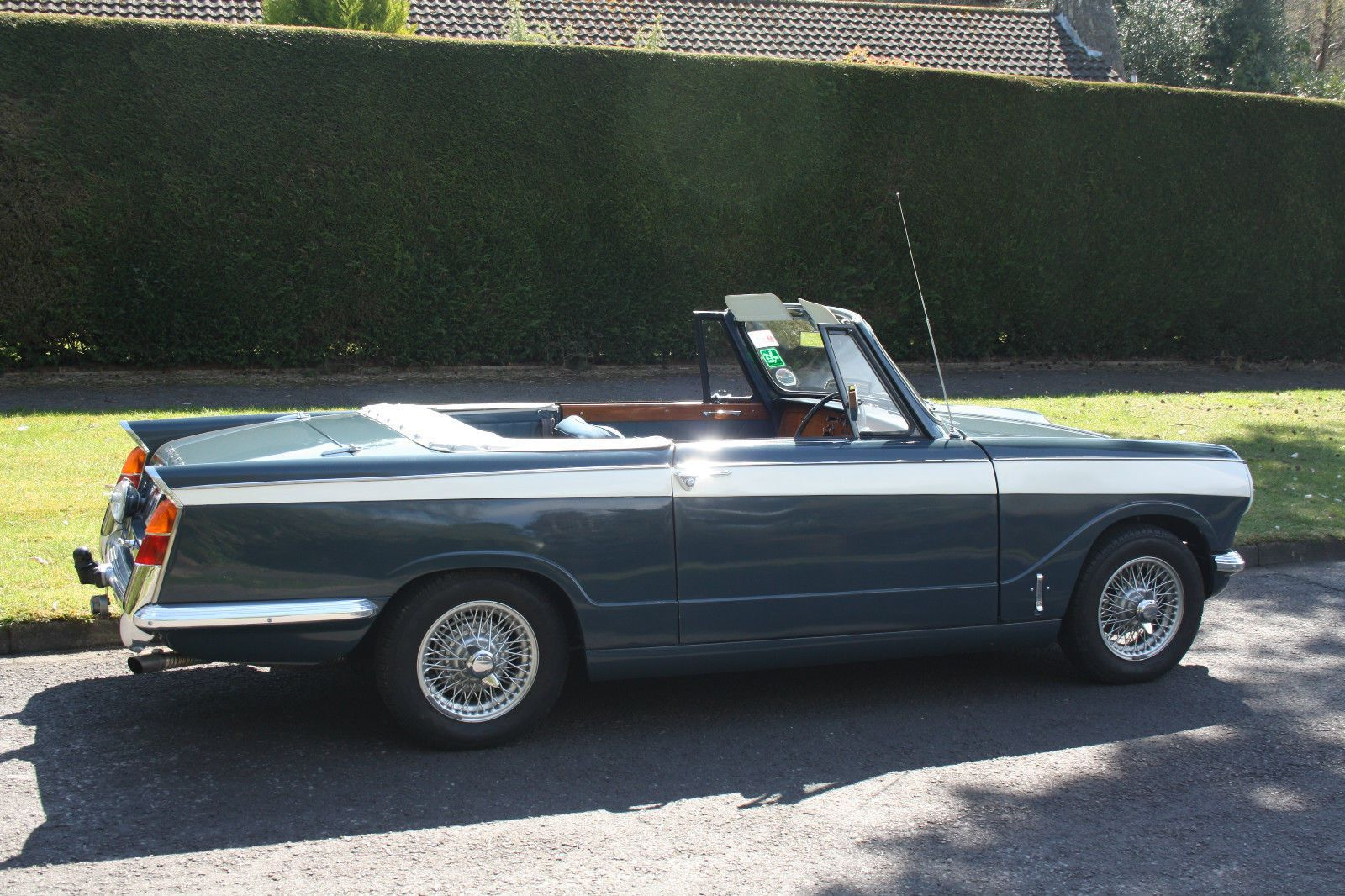 TRIUMPH VITESSE 1600 FACTORY CONVERTIBLE 1965 WITH