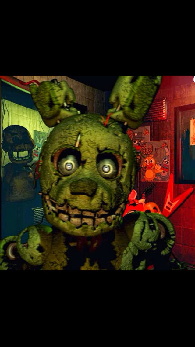 When I first watched Springtrap's jumpscare I jumped and