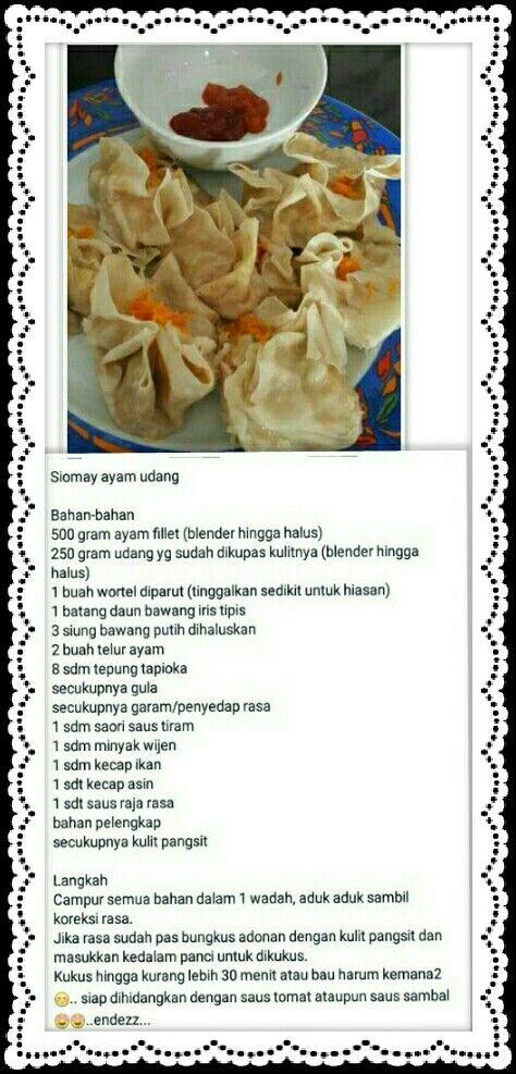 Resep Somay Resep Ide Makanan Resep Masakan