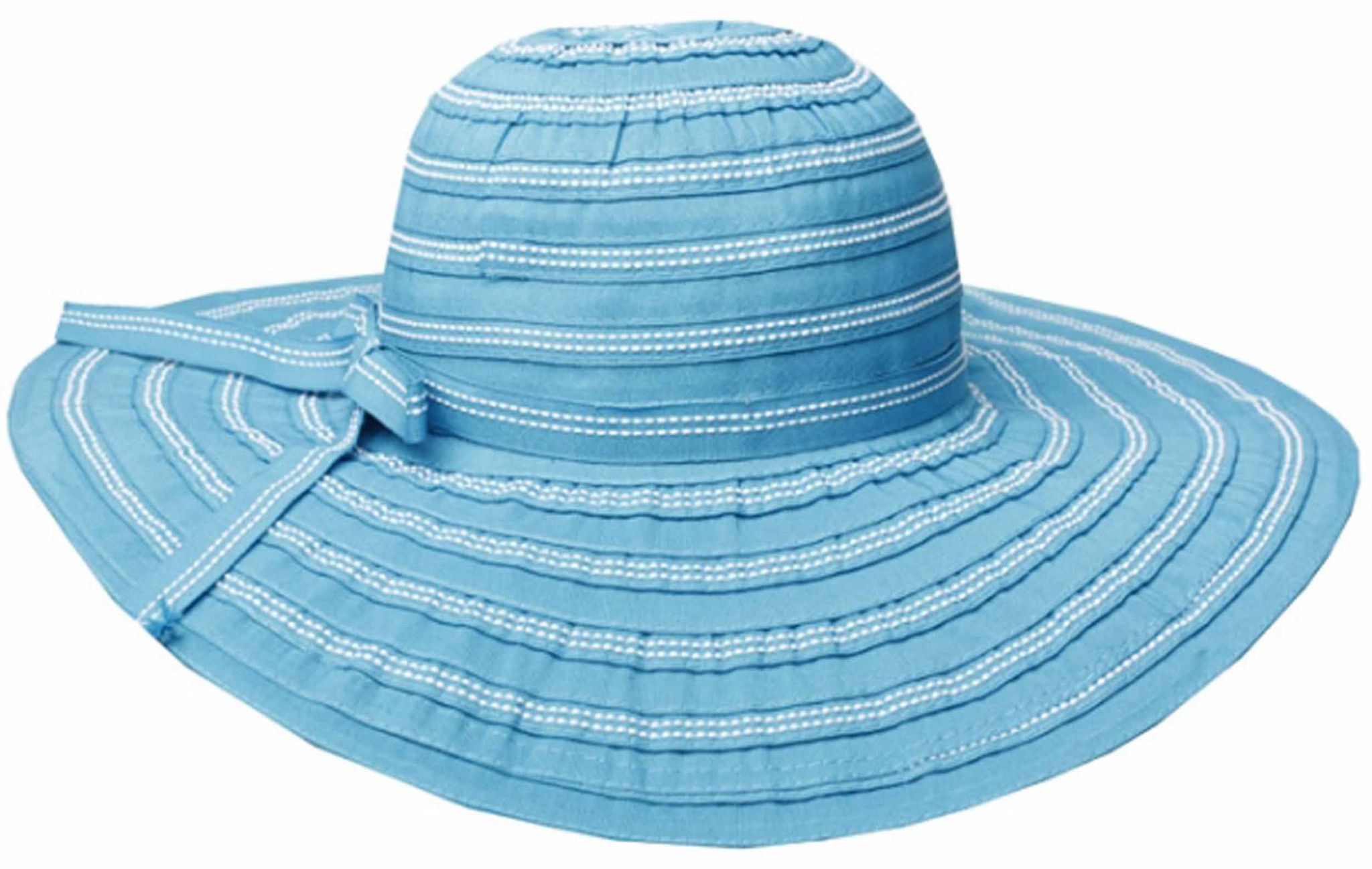 Sakkas Women's Grosgrain Ribbon UPF 50+ Sun Hat