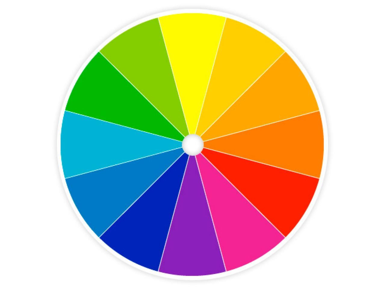 Learn To Use A Color Wheel HGTV Shows You Different Types Of