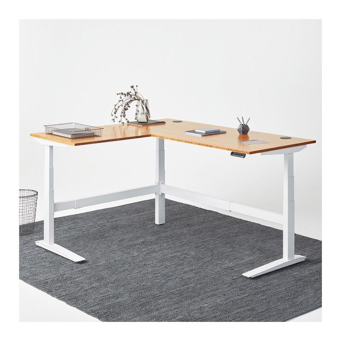 Newheights Eficiente Lt Series L Shaped Electric Sit Stand Desk Electric Sit Stand Desk Sit Stand Desk Corner Standing Desk