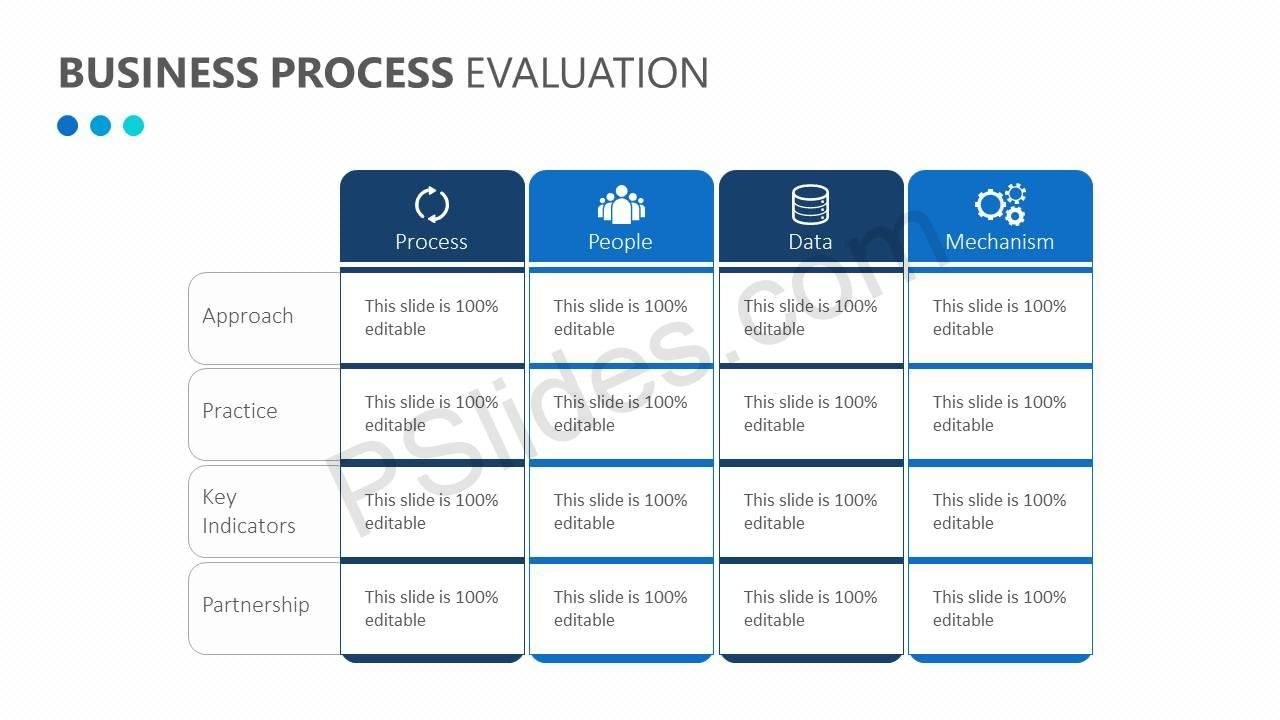 Business process evaluation powerpoint diagrams pinterest business process evaluation wajeb Image collections