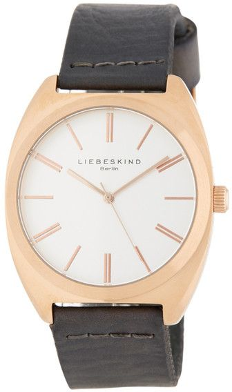 3e8cd012e3 Liebeskind Berlin Women's Large Leather Watch | Gifts: for her ...