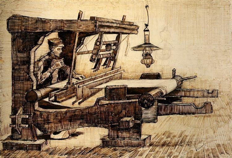 Weaver 1884 Vincent van Gogh Arte - Vincent van Gogh Pinterest - Description De La Chambre De Van Gogh