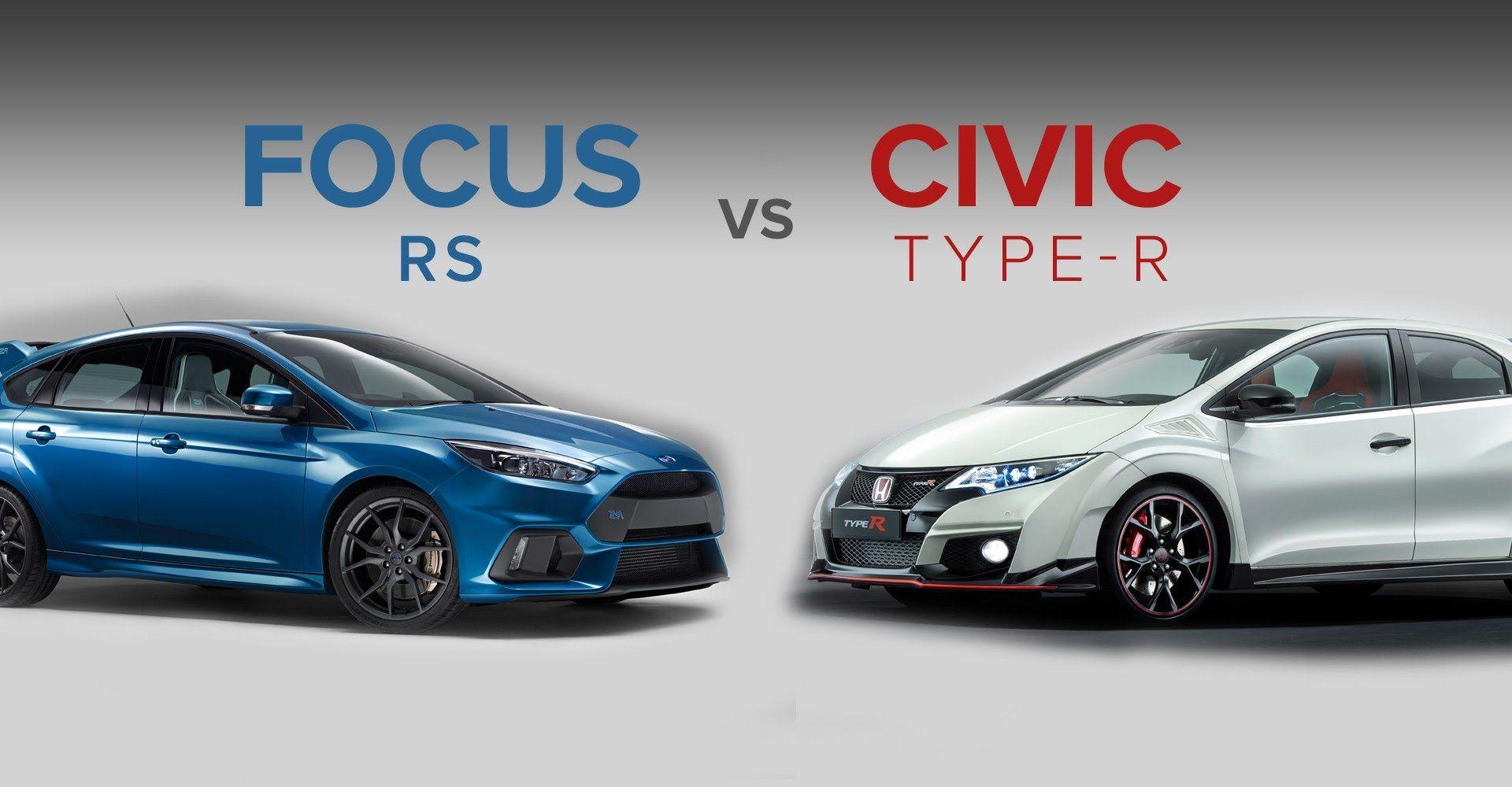 Honda car toys   Ford Focus RS vs Honda Civic Type R  Focus RS  Review