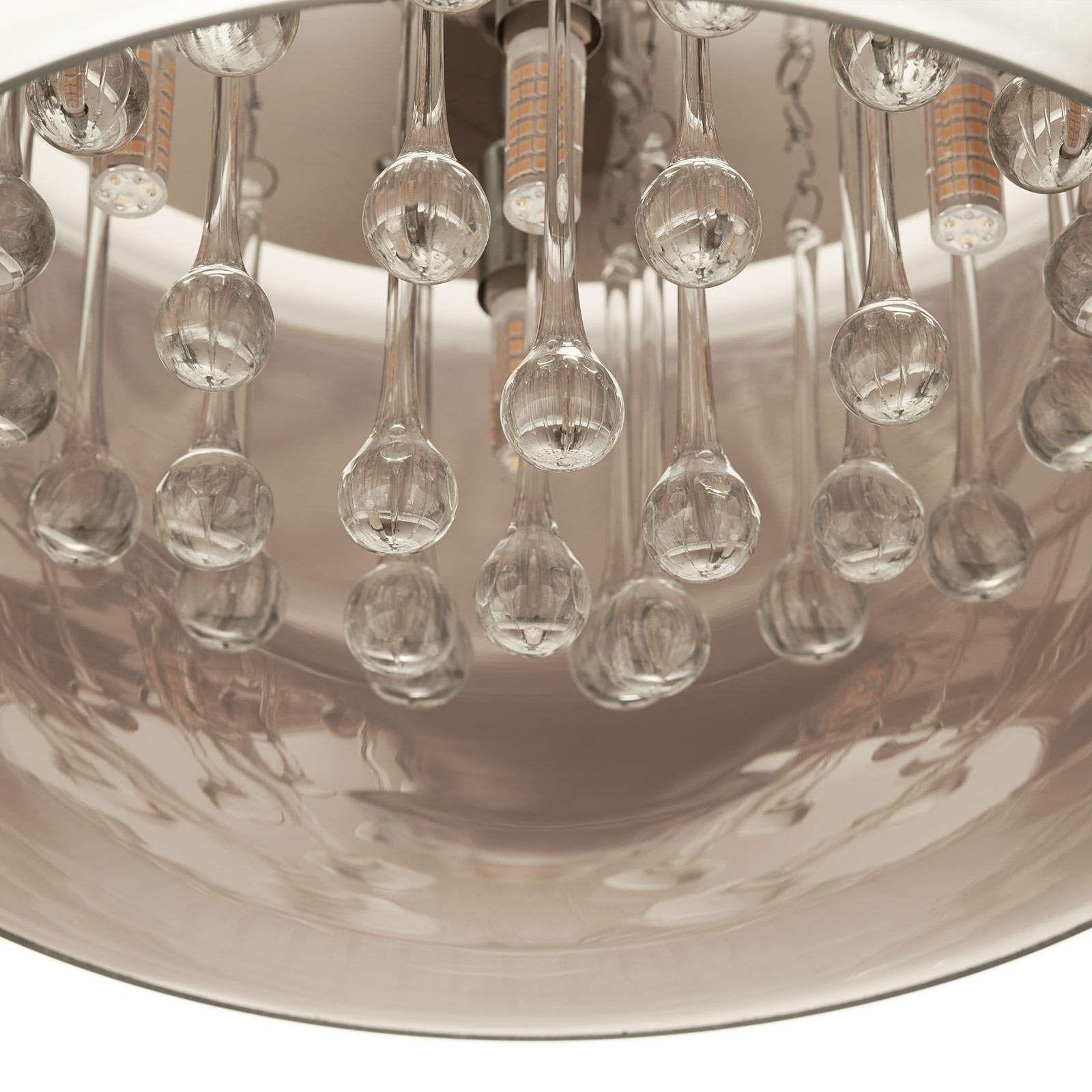 Moderne Pendel Und Hangeleuchten Argos Von Schuller Silber Led Deckenleuchte Led Und Lampen