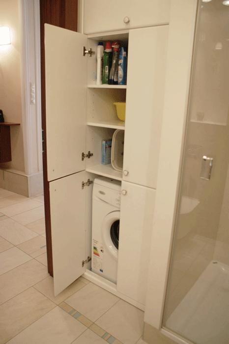 Bardzo dobra Szafa na pralkę i środki czystości. | Aga K | Washer, dryer ZC98