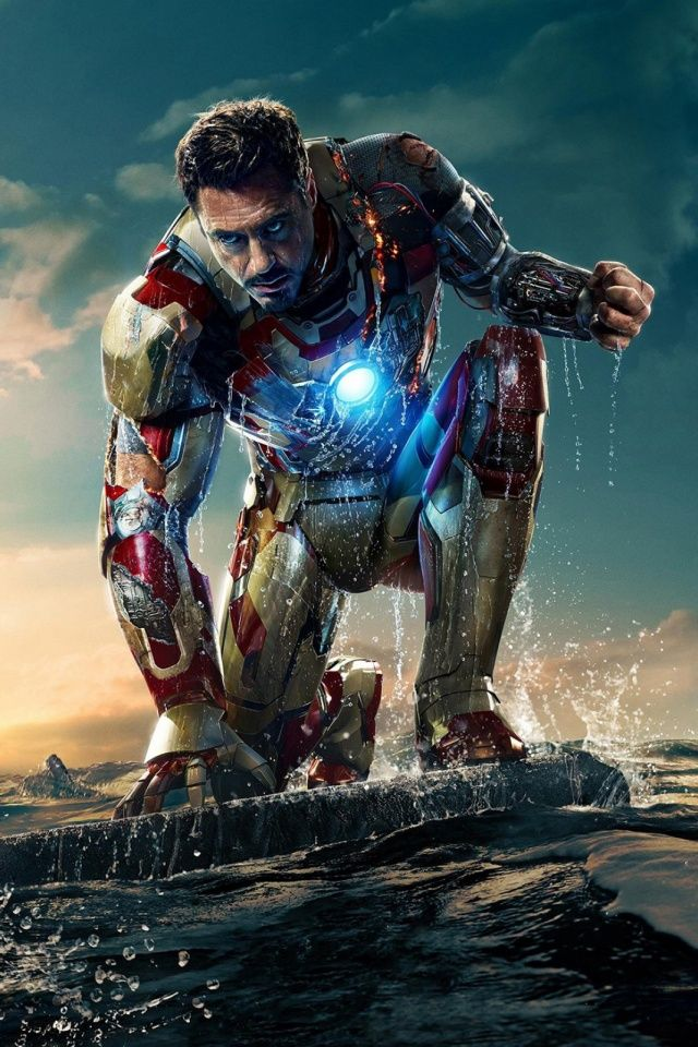 Tony Stark Mobile Wallpaper Mobiles Wall Ironman Pinterest