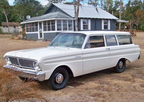 No Frills Driver 1965 Ford Falcon Wagon With Images Ford