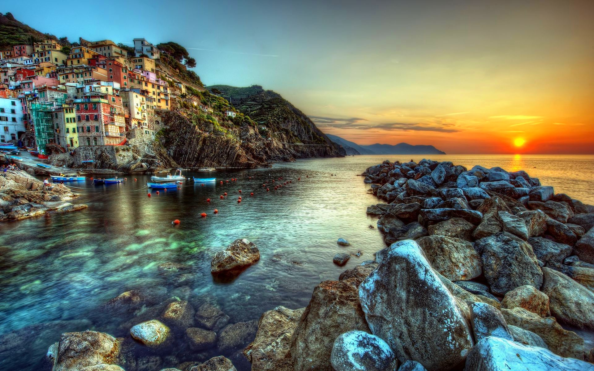 La spezia italy desktop wallpaper 1920x1200 for Italy wallpaper
