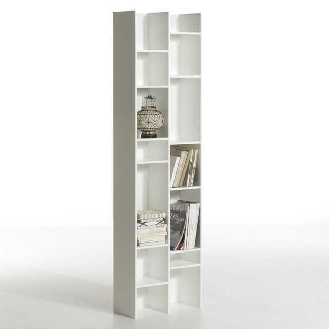 Doll Lacquered Mdf Designer Bookcase To Be Fixed To A Wall Shallow Depth 12 Fixed Shelves Sizes Width 52 Cm Hei Bookcase Design Bookcase Bookcase Storage