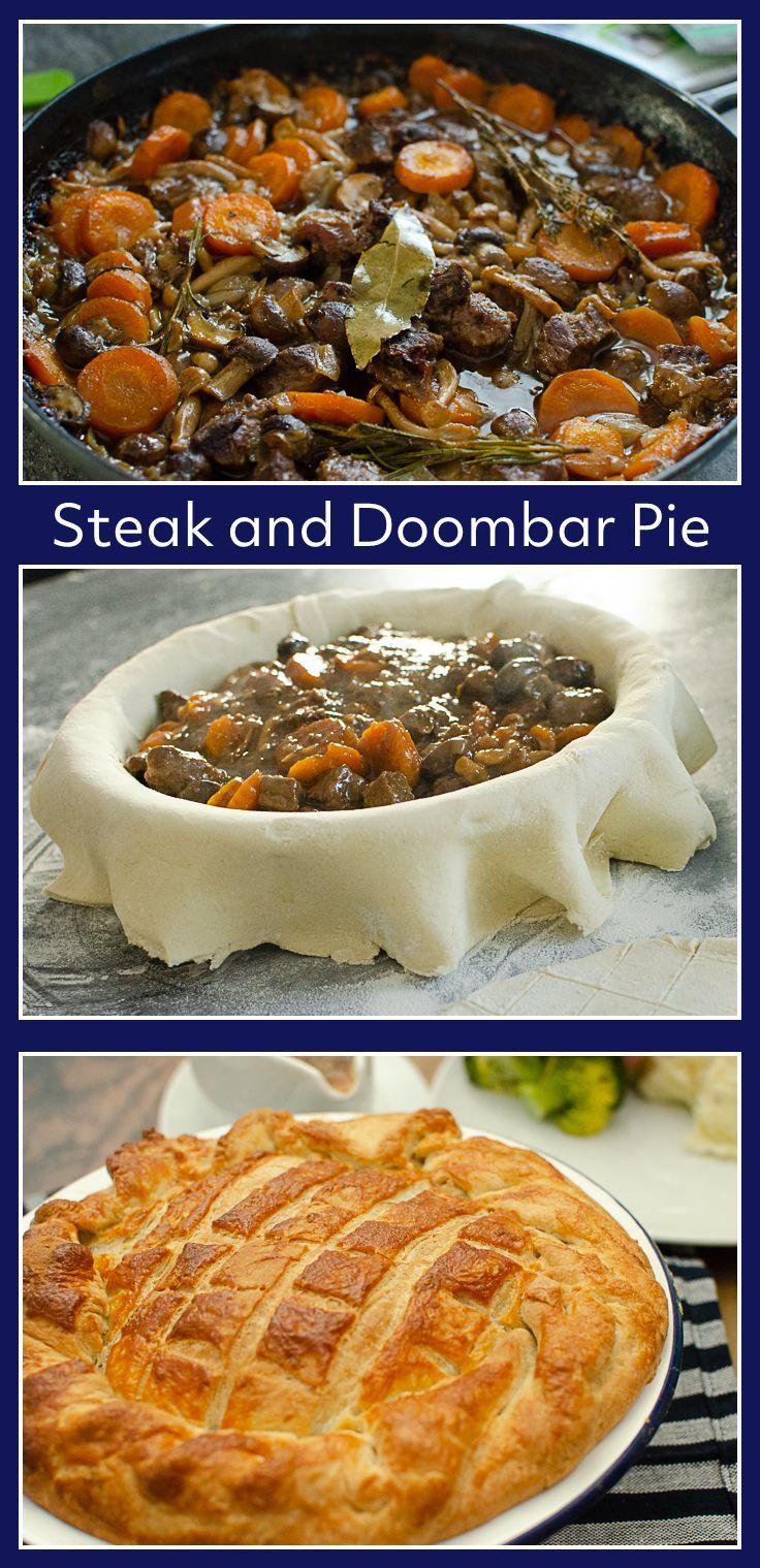 Steak and Doom Bar Pie | Recipe in 2020 | Steak and ale ...