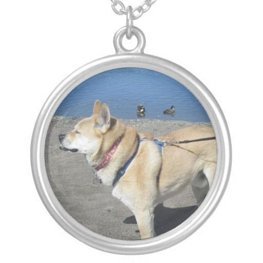 #Akita Silver #Necklace