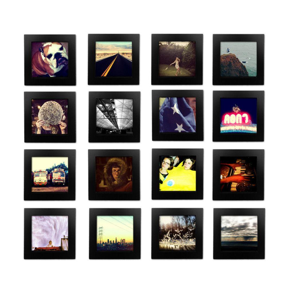 16 pack black 4x4 photo frame 4x4 diy furniture and gallery wall 16 pack black 4x4 photo frame jeuxipadfo Images