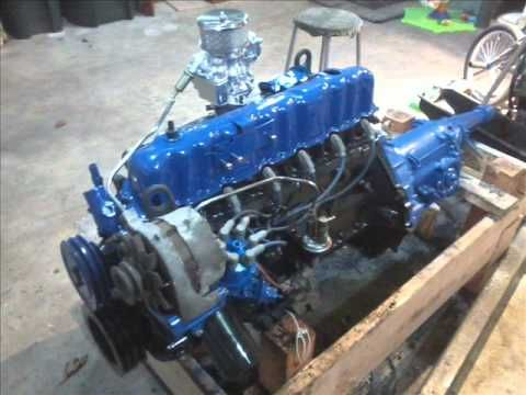 1976 Ford 250ci Inline 6 Youtube Engines Ford Ford
