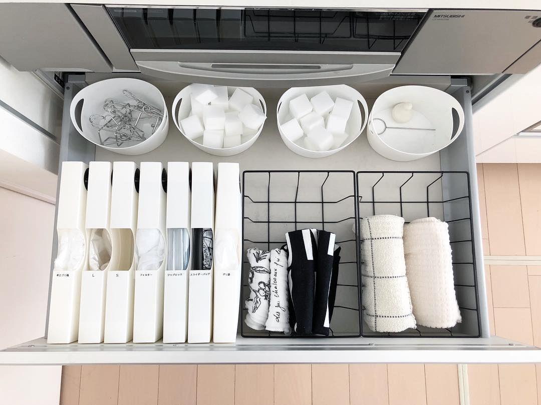 買って大正解でした 100均でキッチンのシンプル スッキリ収納