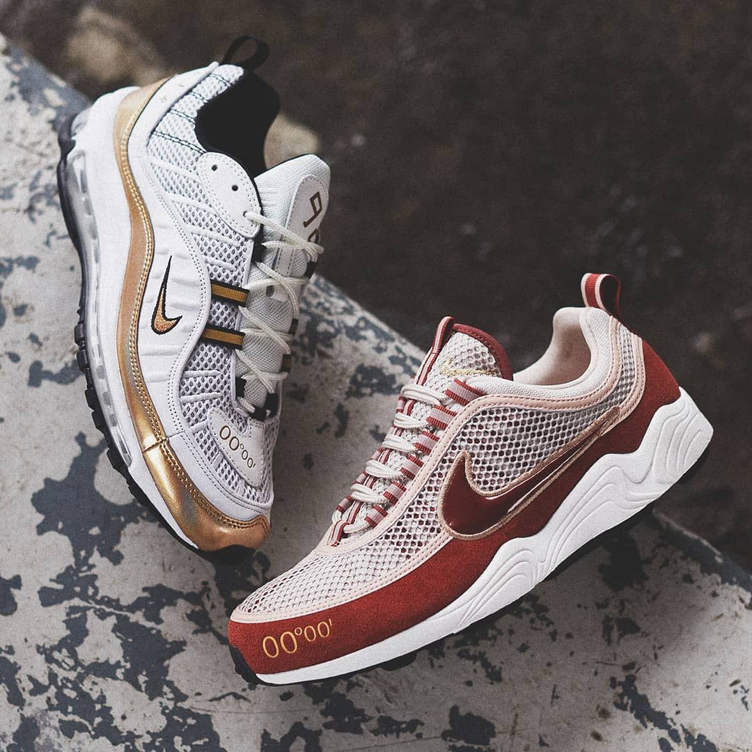 10295c7458cbc Release Date   February 16, 2018 Nike Air Max 98 UK Air Zoom Spiridon UK «  Prime Meridian » Credit   END. Clothing