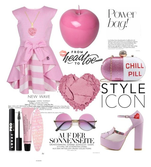 """""""Whoa! You Need A Chill Pill!"""" by bebe-gawddess ❤ liked on Polyvore featuring Posh Girl, Iron Fist, LORAC, PBteen, ZeroUV and Bitossi"""