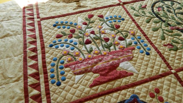 hand quilting by Simple Bird Studio