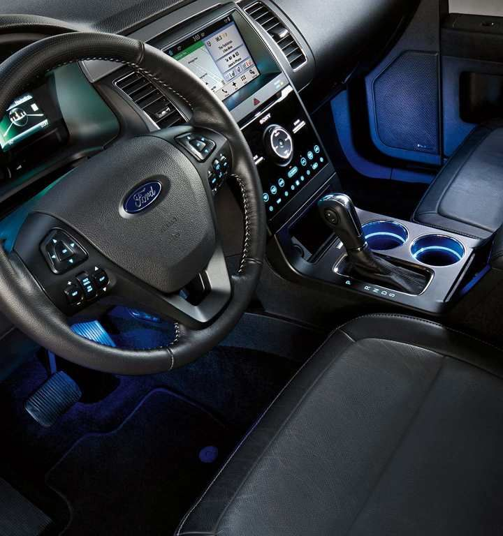 2013 Ford Explorer Limited Interior With Microsoft Sync Technology