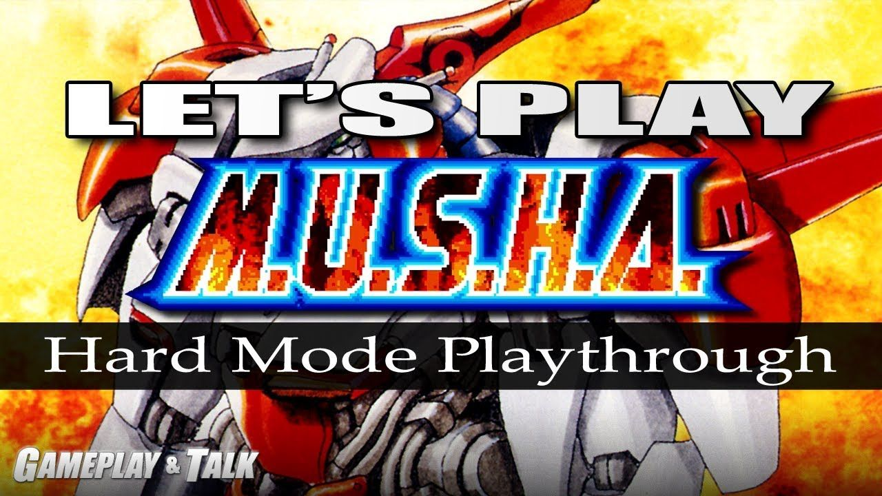 Let S Play Musha For The Sega Genesis Hard Mode Playthrough Lets Play Sega Genesis Let It Be