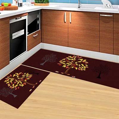 Kitchen Carpet Sets Oxo Supplies 2pcs Modern Mat Anti Slip Floor Rugs Living Room Balcony Bathroom Set Doormat Bath Mats Bedroom Mattress