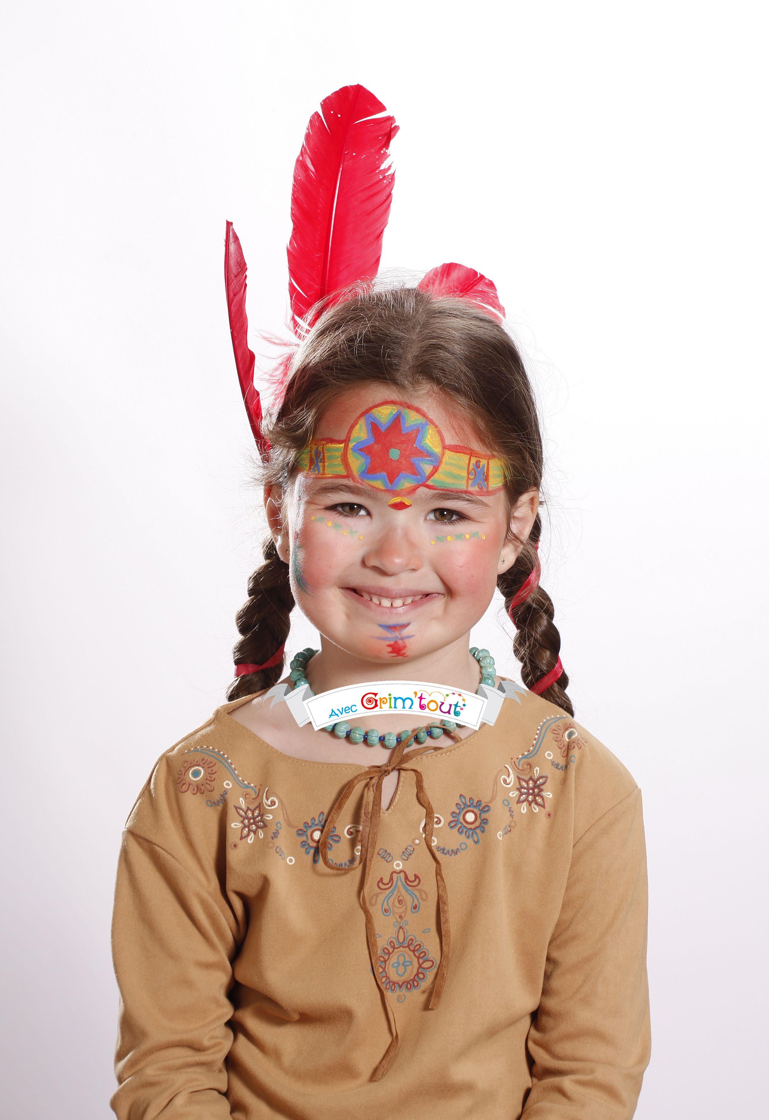 Et Hop Une Jolie Indienne Idées De Maquillage Fille