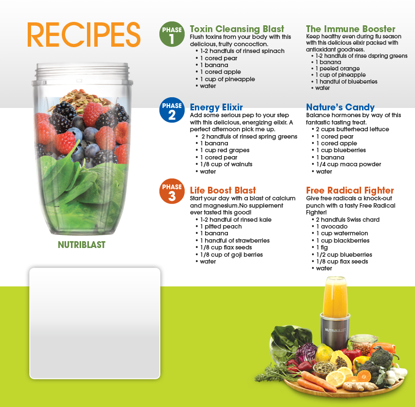 "nutribullet plus user guide & recipe book - ""super-foods"
