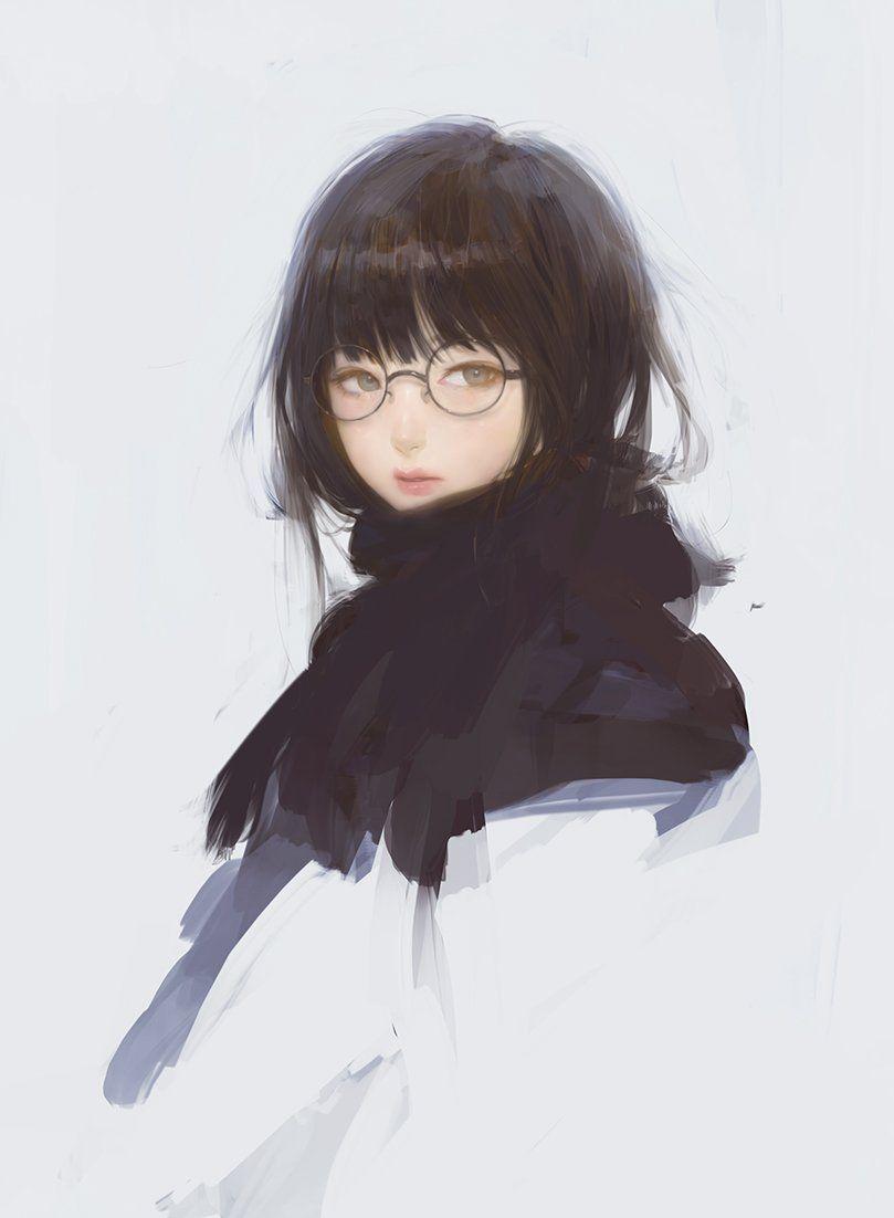Mujiha ムジハ On Art Girl Anime Art Girl Pretty Art