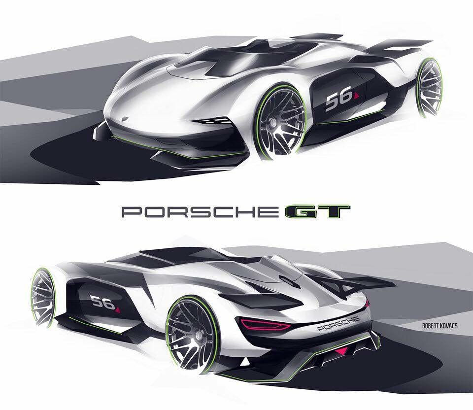 Porsche GT Vision- Robert kovacs