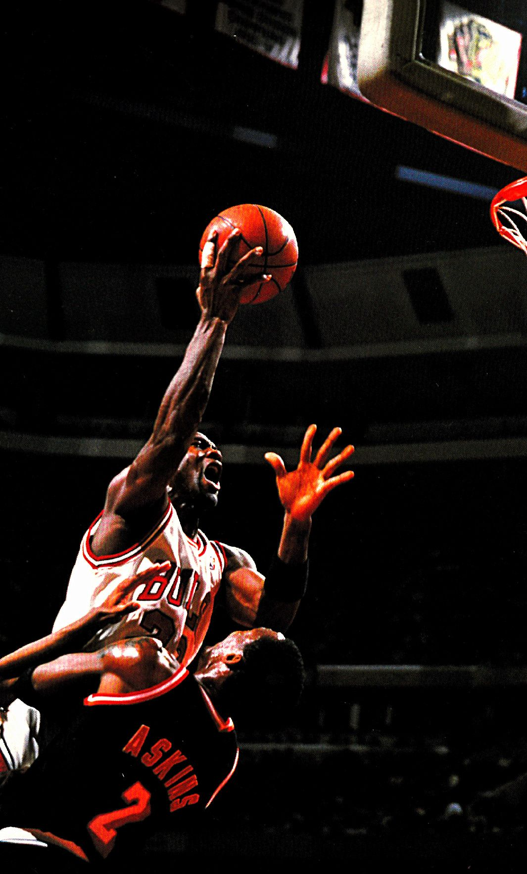 "Michael Jordan MJ USA Basketball Star Wall Poster 21/""x13/"""